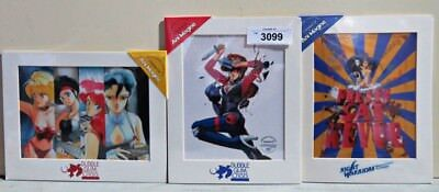 3 Set Bubble Gum Crisis Chroma-Cel Limited Ed. Ani-Magine Collectible Sealed
