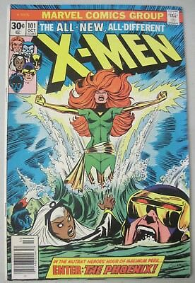 X-Men #101 October 1976 Marvel Comics Origin & 1St Appearance Of Phoenix
