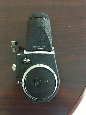 Leitz Wetzlar / Leica Visoflex Iii Upright Viewer & Reflex Housing
