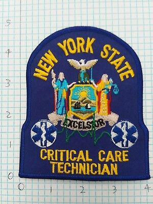 New York State EMT Critical Care Patch NY CC
