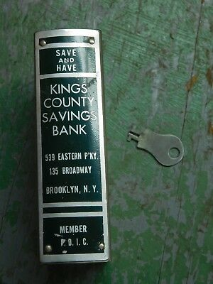 Vintage Keys County Saving Bank still bank with key