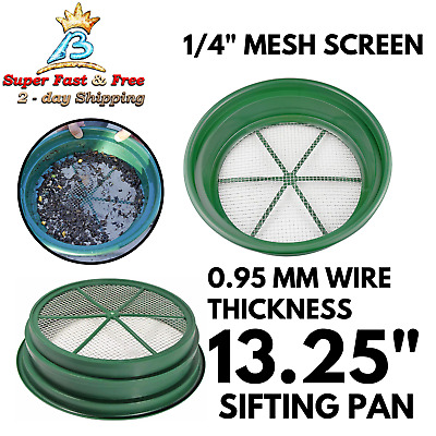 Sifting Pan Gold Panning Classifier Equipment Mesh Screen Mining Patented Pan