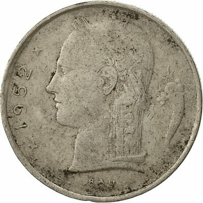 [#429776] Belgique, Franc, 1952, TB, Copper-nickel, KM:142.1