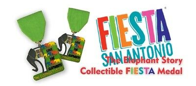 2018 Fiesta Medal THE ELEPHANT STORY