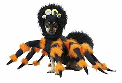 Spider Pup Tarantula Dog Costume for Halloween Pet Costume Large Size