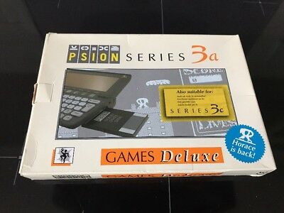 New (Sealed) : Psion Series 3, 3a, 3c Games DeLuxe 3a - Box & Manual