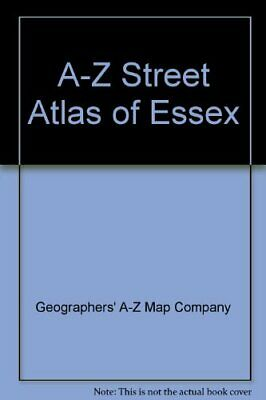 A-Z Street Atlas of Essex by Geographers' A-Z Map Company Paperback Book The