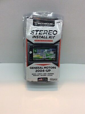 Scosche Stereo Install Kit General Motors 2004-Up GM2600 Made In USA