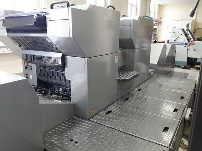 2013 Presstek 52DI AC printing press with coater