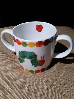 Vintage Portmeirion Eric Carle Very Hungry Caterpillar 2-Handled Children's Mug