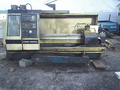 Clausing Colchester Cnc Flat Bed Lathe 21X80