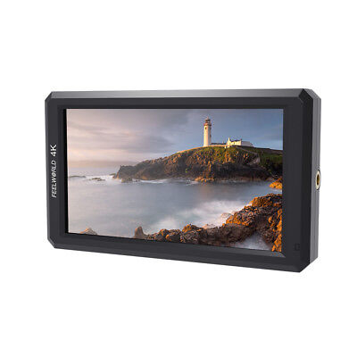 "US Feelworld F6 5.7"" FULL HD 1080P IPS LED Camera Field Video Monitor 4K HDMI"