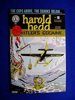 Harold Hedd In Hitler's Cocaine #2. Rand Holmes. VFN/NM.