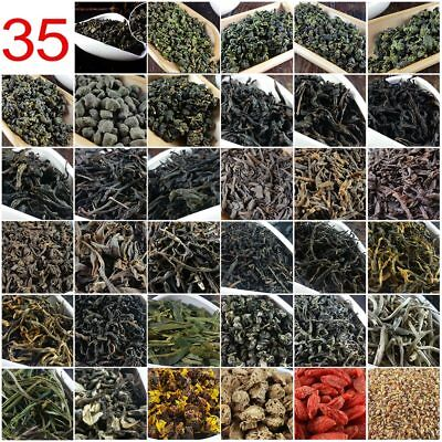 35 Different Chinese Tea including Oolong Puer Black Green Tea Gift 209.2g