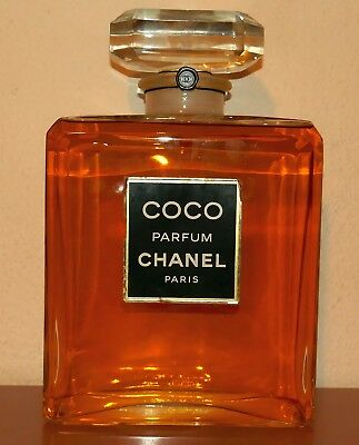CHANEL Paris COCO Parfum XXL Factice Dummy 27 cm hoch
