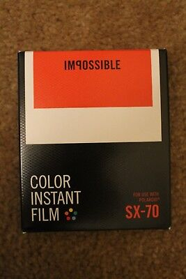 Impossible Instant Color Film Polaroid SX-70 Type Cameras PRD4512 Box Type 1000