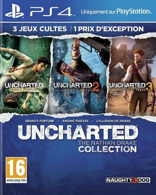 PS4 Spiel Uncharted The Nathan Drake Collection 1-3 NEUWARE