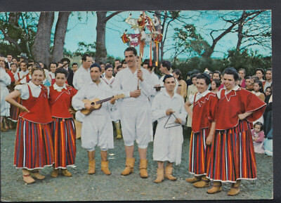 Portugal Postcard - Funchal (Madeira) - Typical Dance  T769
