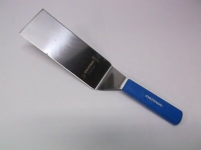 Dexter S286-8SQ Blue Hi Heat Handle Pro Grill Turner Square 8X3 Spatula Factory2