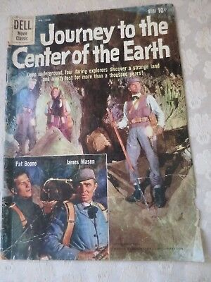 Journey To The Center Of The Earth #1060 Dell Movie Classic Pat Boone 1959