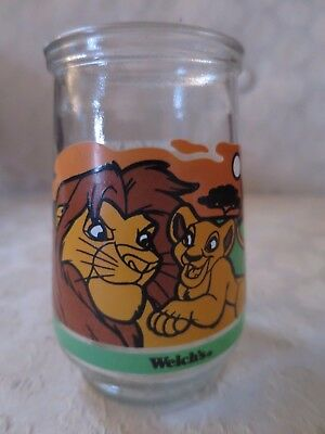 Welch's The Lion King II Simba's Pride Jelly Glass Jar