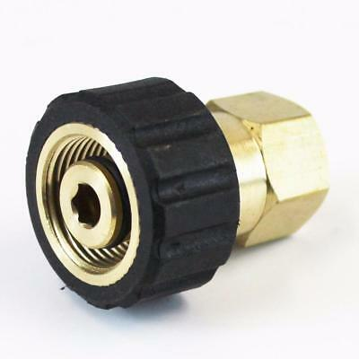 """M22 X 1/4"""" Female Pressure Washer Twist Connect Adapter Quick Connector"""