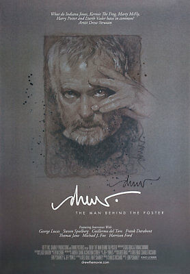 Drew: The Man Behind the Poster 2013 U.S. One Sheet Poster Signed