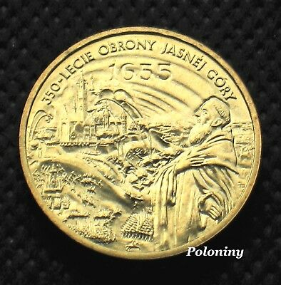 COIN OF POLAND - 350th ANNIVERSARY OF DEFENCE OF JASNA GORA CZESTOCHOWA (MINT)