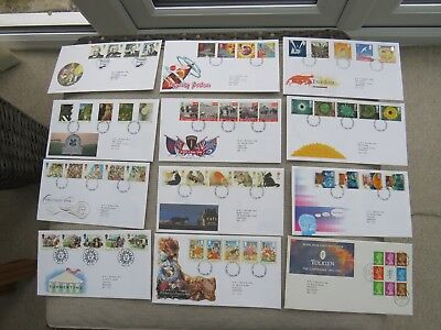 FDCs  - GB  -  Various Dates  1990s  - New Listing