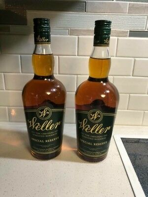 TWO WELLER SPECIAL RESERVE BOURBON 750ml By Buffalo Trace Distillery