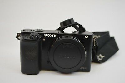 Sony Alpha a6000 24.3MP Digital Camera - Black (Body Only) with Case (18)