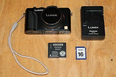 PANASONIC LUMIX DMC-LX5 10.1MP 3''Screen 3.8x Zoom Digital HD Camera...VERY NICE