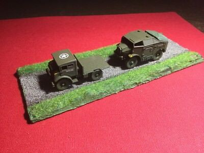 Plastic Soldier Company 1/72  Allied Trucks  And Base Battle group Wargames