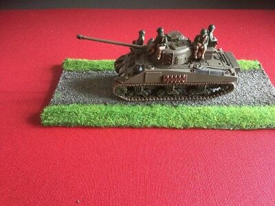 Plastic Soldier Company 1/72 Sherman Firefly Tank With US Troops    Lot 2