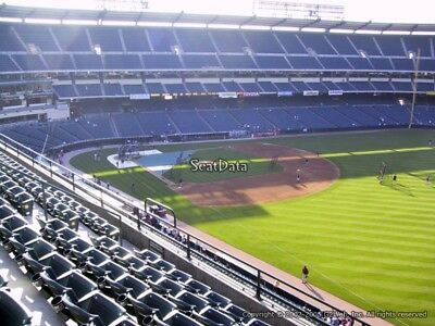 1 up to 16 Front Row New York Yankees @ Angels 4/27/18 Lower View 430 Row A