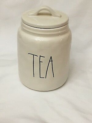 HTF FAST AND SAFE  ship Rae Dunn - Authentic Tea Canister. Brand new!