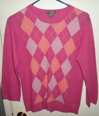 Girls Griffen 100% Cashmere Sweater Large
