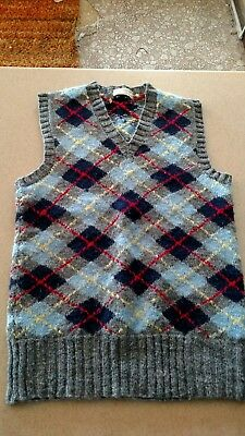 Vintage Hand Knitted Sweater Vest, Young Child