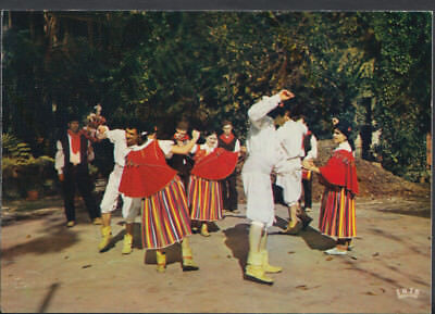 Portugal Postcard - Funchal (Madeira) - Typical Dance  T822