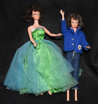 1960's Barbie, Midge, + Large Lot of Vintage Outfits & Accessories Must See!