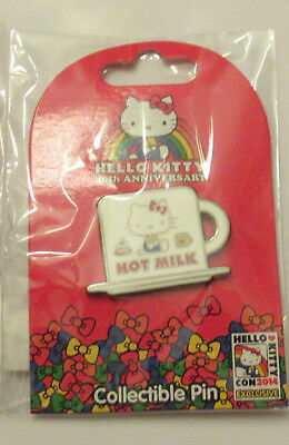 Hello Kitty Con 2014 Collector's Pin: Hot Milk