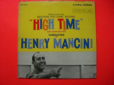 Henry Mancini  HIGH TIME   OST  LP  1960