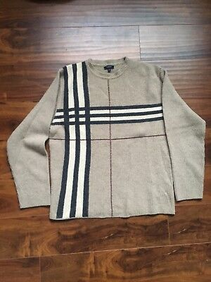 Burberry London Check Wool Sweater Size M
