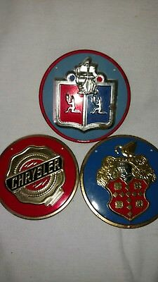 Wheaties Cereal Car Badges