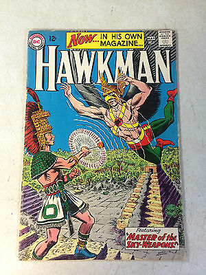 Hawkman #1 Sky Weapons, Key 1St Issue, 1964, Hawkgirl, Thanagar!!