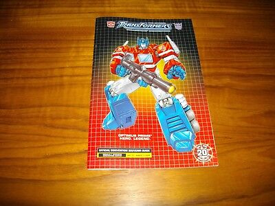 Rare 2004 Transformers Convention Guide + 18 More Transformers Comics Free Ship