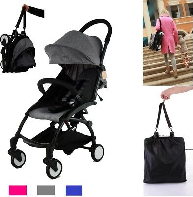 Flykids Travel Easy Lightweight Pram Buggy Travel Pushchair Stroller Carry Bag