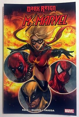 Ms Marvel Vol 7 Dark Reign TPB OOP VFNM VERY RARE Brian Reed