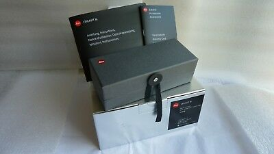 Leica Leicavit-M Rapid Manual Film Advance Winder- Silver chrome New in Box
