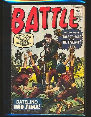Battle # 70 - Kirby/Ditko art VG/Fine Cond.